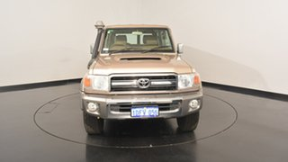 2009 Toyota Landcruiser VDJ76R MY10 GXL Gold 5 Speed Manual Wagon