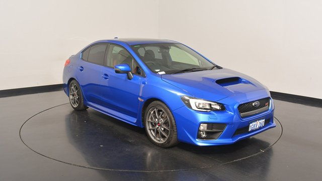 Used Subaru WRX V1 MY17 STI AWD Premium, 2017 Subaru WRX V1 MY17 STI AWD Premium Blue 6 Speed Manual Sedan