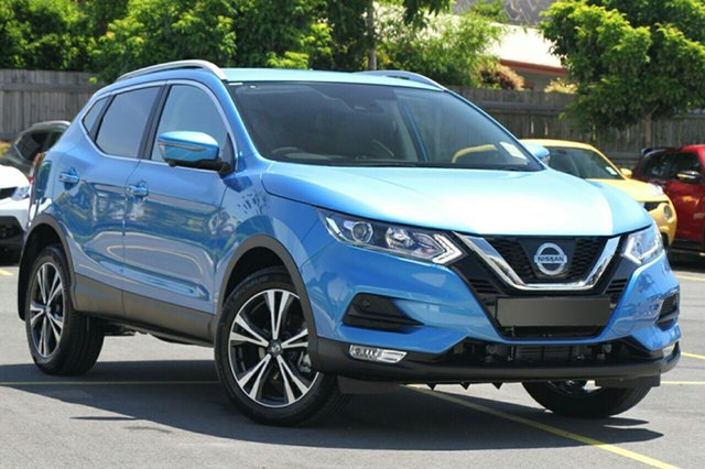New Nissan Qashqai J11 Series 3 MY20 ST-L X-tronic Hamilton, 2020 Nissan Qashqai J11 Series 3 MY20 ST-L X-tronic Vivid Blue 1 Speed Constant Variable Wagon