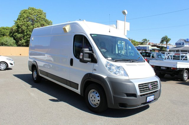 Used Fiat Ducato Series II MY12 Mid Roof LWB Comfort-matic, 2014 Fiat Ducato Series II MY12 Mid Roof LWB Comfort-matic White 6 Speed