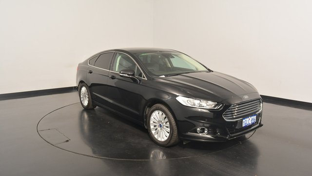 Used Ford Mondeo MD Trend PwrShift, 2016 Ford Mondeo MD Trend PwrShift Black 6 Speed Sports Automatic Dual Clutch Hatchback