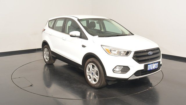 Used Ford Escape ZG Ambiente 2WD, 2017 Ford Escape ZG Ambiente 2WD Frozen White 6 Speed Sports Automatic Wagon