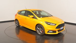 2017 Ford Focus LZ ST Orange 6 Speed Manual Hatchback