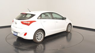 2017 Hyundai i30 GD4 Series II MY17 Active Polar White 6 Speed Sports Automatic Hatchback
