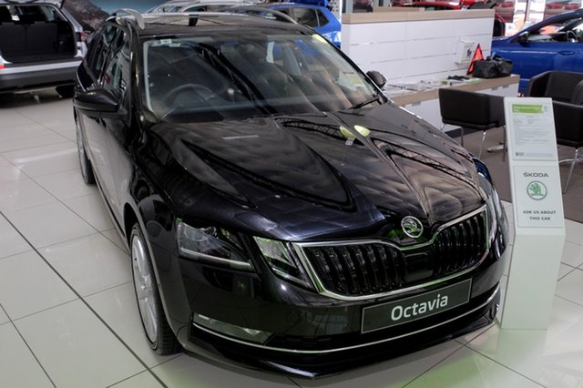 New Skoda Octavia NE MY20.5 110TSI DSG, 2020 Skoda Octavia NE MY20.5 110TSI DSG Magic Black 7 Speed Sports Automatic Dual Clutch Wagon