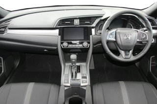 2019 Honda Civic 10th Gen MY19 VTi-L Lunar Silver 1 Speed Constant Variable Hatchback.