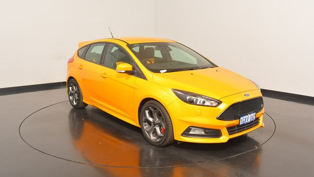 Used Ford Focus LZ ST, 2017 Ford Focus LZ ST Orange 6 Speed Manual Hatchback