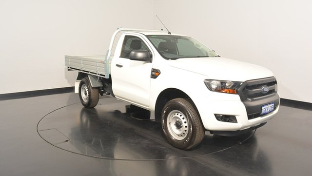 Used Ford Ranger PX MkII XL, 2017 Ford Ranger PX MkII XL Cool White 6 Speed Sports Automatic Cab Chassis