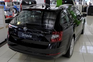 2020 Skoda Octavia NE MY20.5 110TSI DSG Magic Black 7 Speed Sports Automatic Dual Clutch Wagon.