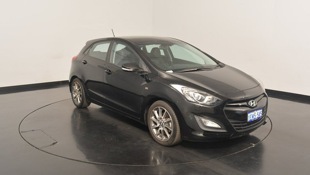 Used Hyundai i30 GD2 SR, 2013 Hyundai i30 GD2 SR Phantom Black 6 Speed Sports Automatic Hatchback