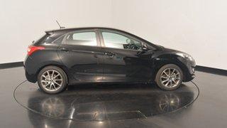 2013 Hyundai i30 GD2 SR Phantom Black 6 Speed Sports Automatic Hatchback