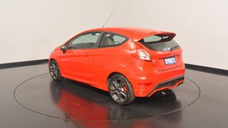 2017 Ford Fiesta WZ ST Red 6 Speed Manual Hatchback.