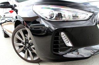 2018 Hyundai i30 PD2 MY18 SR D-CT Phantom Black 7 Speed Sports Automatic Dual Clutch Hatchback.
