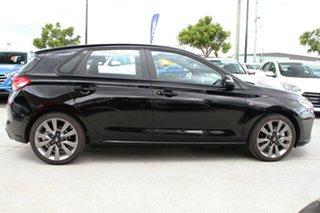 2018 Hyundai i30 PD2 MY18 SR D-CT Phantom Black 7 Speed Sports Automatic Dual Clutch Hatchback