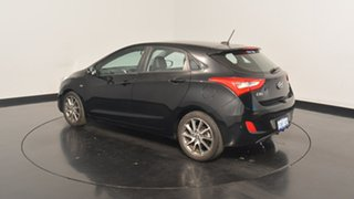 2013 Hyundai i30 GD2 SR Phantom Black 6 Speed Sports Automatic Hatchback.