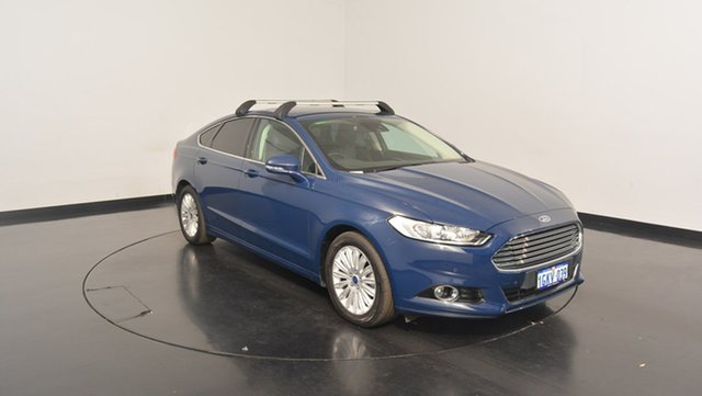 Used Ford Mondeo MD Trend SelectShift, 2016 Ford Mondeo MD Trend SelectShift Blue 6 Speed Sports Automatic Hatchback