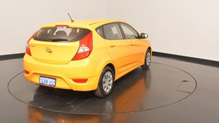 2016 Hyundai Accent RB4 MY17 Active Sunflower 6 Speed Constant Variable Hatchback