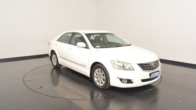 Used Toyota Aurion GSV40R Prodigy, 2008 Toyota Aurion GSV40R Prodigy White 6 Speed Sports Automatic Sedan
