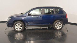 2014 Jeep Compass MK MY14 Sport Blue 6 Speed Sports Automatic Wagon.