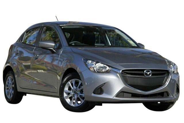 New Mazda 2 DJ2HAA Maxx SKYACTIV-Drive, 2019 Mazda 2 DJ2HAA Maxx SKYACTIV-Drive Aluminium 6 Speed Sports Automatic Hatchback