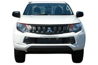 2018 Mitsubishi Triton GLX+ White 5 Speed Automatic