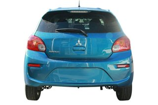2019 Mitsubishi Mirage LA MY19 LS Cyber Blue Continuous Variable Hatchback