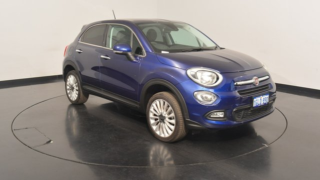 Used Fiat 500X 334 Lounge AWD, 2015 Fiat 500X 334 Lounge AWD Venezia Blue 9 Speed Sports Automatic Wagon