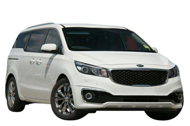 New Kia Carnival YP MY20 Platinum, 2019 Kia Carnival YP MY20 Platinum Clear White 8 Speed Sports Automatic Wagon