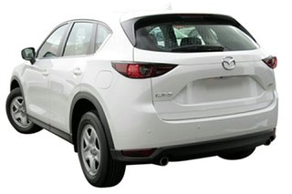 2020 Mazda CX-5 KF2W7A Maxx SKYACTIV-Drive FWD Snowflake White 6 Speed Sports Automatic Wagon.