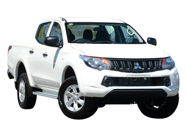 New Mitsubishi Triton MQ MY17 GLX+ Double Cab, 2017 Mitsubishi Triton MQ MY17 GLX+ Double Cab White 5 Speed Sports Automatic Utility
