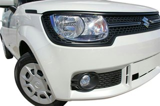 2019 Suzuki Ignis MF GL Pure White Continuous Variable Wagon.