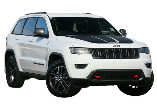 New Jeep Grand Cherokee WK MY19 Trailhawk, 2019 Jeep Grand Cherokee WK MY19 Trailhawk Bright White 8 Speed Sports Automatic Wagon