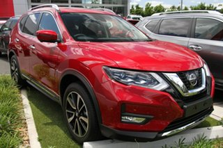 2018 Nissan X-Trail T32 Series II Ti X-tronic 4WD Ruby Red 7 Speed Constant Variable Wagon.