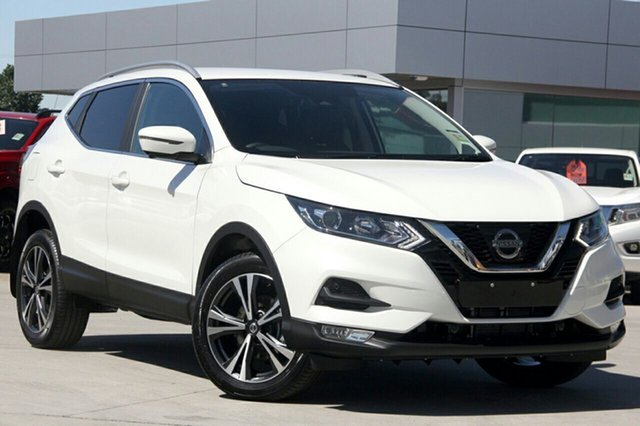 New Nissan Qashqai J11 Series 3 MY20 ST-L X-tronic Newstead, 2020 Nissan Qashqai J11 Series 3 MY20 ST-L X-tronic Ivory Pearl 1 Speed Constant Variable Wagon