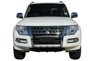 2021 Mitsubishi Pajero NX MY21 GLS (4x4) 7 Seat White Solid 5 Speed Auto Sports Mode Wagon