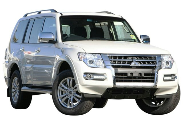 New Mitsubishi Pajero NX MY21 GLX Gunnedah, 2021 Mitsubishi Pajero NX MY21 GLX Alpine White 5 Speed Sports Automatic Wagon