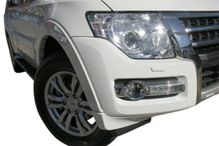 2021 Mitsubishi Pajero NX MY21 GLS (4x4) 7 Seat White Solid 5 Speed Auto Sports Mode Wagon.