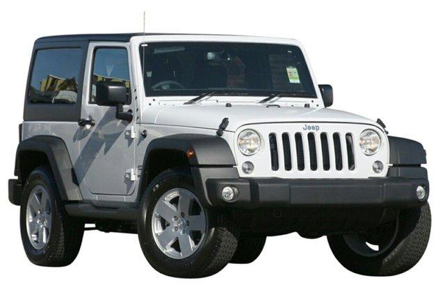 New Jeep Wrangler JK MY18 Sport, 2018 Jeep Wrangler JK MY18 Sport Bright White 5 Speed Automatic Softtop