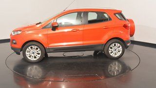 2016 Ford Ecosport BK Titanium PwrShift Red 6 Speed Sports Automatic Dual Clutch Wagon.