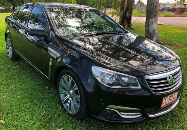 Used Holden Calais VF MY14 V, 2014 Holden Calais VF MY14 V Black 6 Speed Sports Automatic Sedan