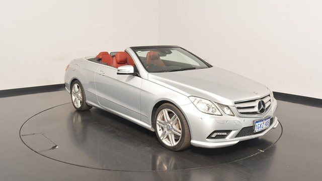Used Mercedes-Benz E500 C207 Avantgarde 7G-Tronic, 2010 Mercedes-Benz E500 C207 Avantgarde 7G-Tronic Silver 7 Speed Sports Automatic Coupe