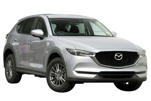 New Mazda CX-5 KF4WLA Maxx SKYACTIV-Drive i-ACTIV AWD Sport, 2019 Mazda CX-5 KF4WLA Maxx SKYACTIV-Drive i-ACTIV AWD Sport Sonic Silver 6 Speed Sports Automatic