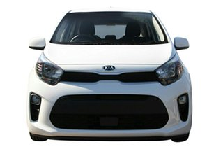 2020 Kia Picanto JA MY20 S Clear White 4 Speed Automatic Hatchback