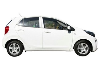 2020 Kia Picanto JA MY20 S Clear White 4 Speed Automatic Hatchback.