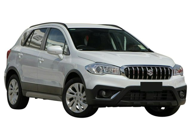 Demo Suzuki S-Cross JY Turbo Melville, 2020 Suzuki S-Cross JY Turbo Cool White 6 Speed Sports Automatic Hatchback