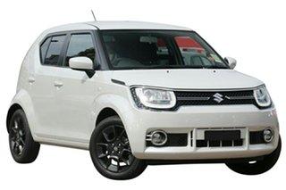 2020 Suzuki Ignis MF GLX Ivory Pearl 1 Speed Constant Variable Hatchback.