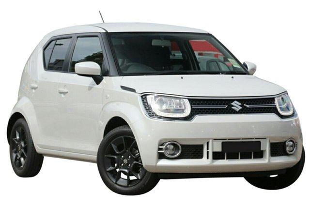 New Suzuki Ignis MF GLX, 2020 Suzuki Ignis MF GLX Pure White Pearl 1 Speed Constant Variable Hatchback