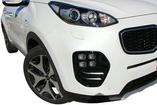 2018 Kia Sportage QL MY18 GT-Line AWD Snow White Pearl 6 Speed Sports Automatic Wagon.