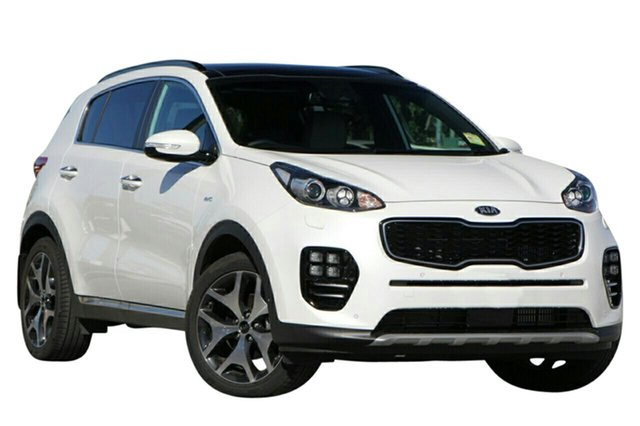 New Kia Sportage QL MY18 GT-Line AWD, 2018 Kia Sportage QL MY18 GT-Line AWD Snow White Pearl 6 Speed Sports Automatic Wagon