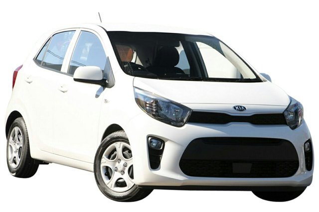 New Kia Picanto JA MY19 S, 2019 Kia Picanto JA MY19 S Clear White 4 Speed Automatic Hatchback